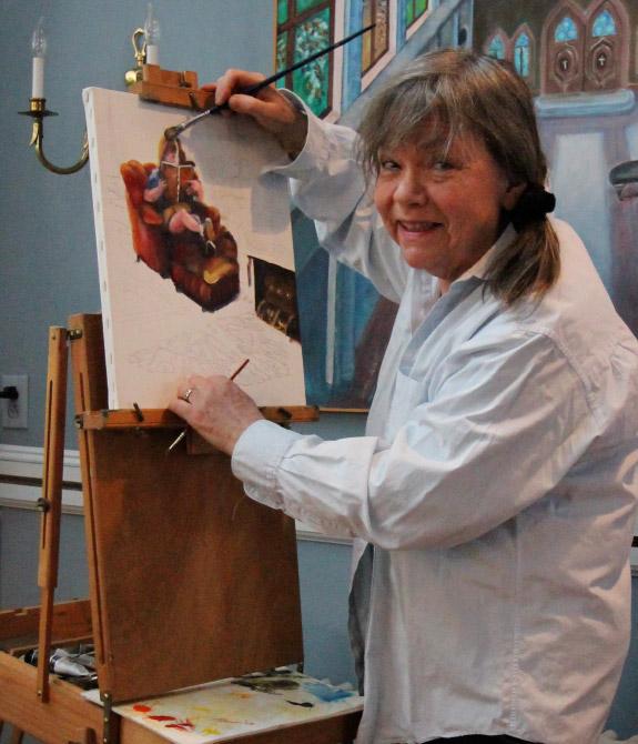 Cinder LeDell Painting